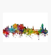 Stirling Scotland Skyline Photographic Print