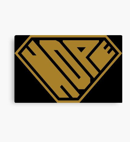 Hope SuperEmpowered (Gold) Canvas Print