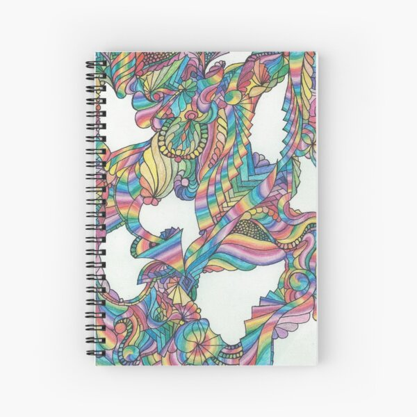 Holes in the Universe Spiral Notebook