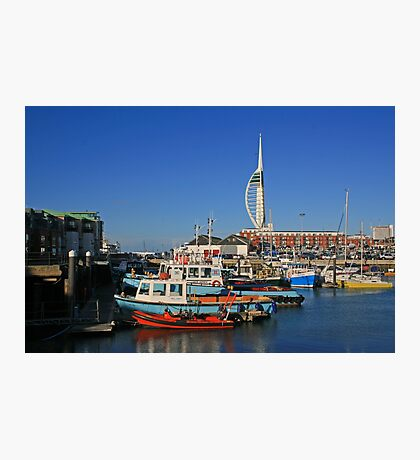 Old Portsmouth Harbour Photographic Print