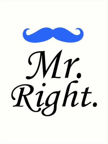 "Mrs Always Right Collection Review: Mrs. Always Right Couples Design"" Art Prints"