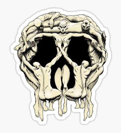 Slaves to the Skull Queen Sticker
