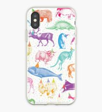 Party Tiere iPhone-Hülle & Cover