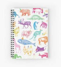 Party Animals Spiral Notebook