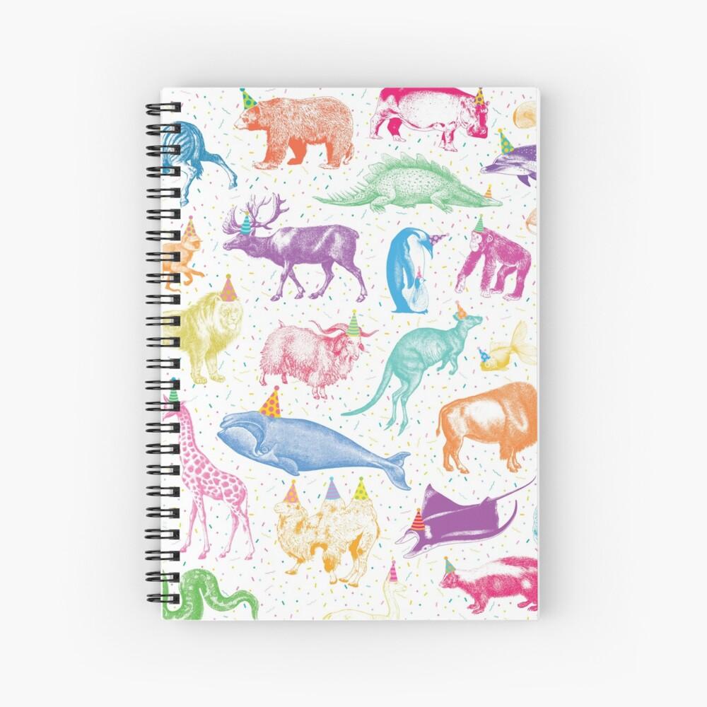 Party Animals Spiral Notebook