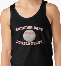 fde9efdc8dc1 father Men s Tank Top. Summer Days and Double Plays