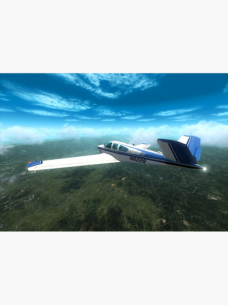 Beechcraft Bonanza by marjanmencin