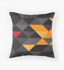 Lotus F1 Geometric Print Throw Pillow