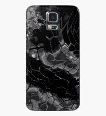 Animal print design - black dragon Case/Skin for Samsung Galaxy