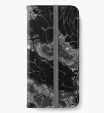 Animal print design - black dragon iPhone Wallet/Case/Skin