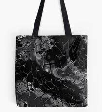 Animal print design - black dragon Tote Bag