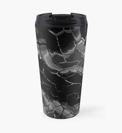 Animal print design - black dragon Travel Mug