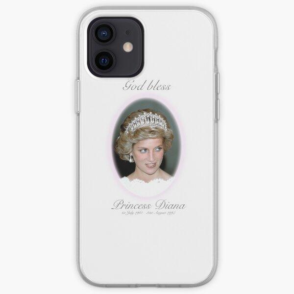 God Bless Princess Diana - Remembrance iPhone Soft Case