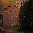 Château de Chimay - Belgium - façade arrière by Gilberte