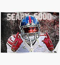 Odell Beckham Jr. Scary Good Poster