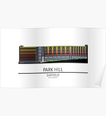 Sheffield Icons - Park Hill Poster