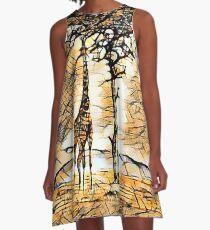 Reach and Emancipate Yourself  A-Line Dress