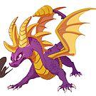 Spyro the Dragon by PencilCat