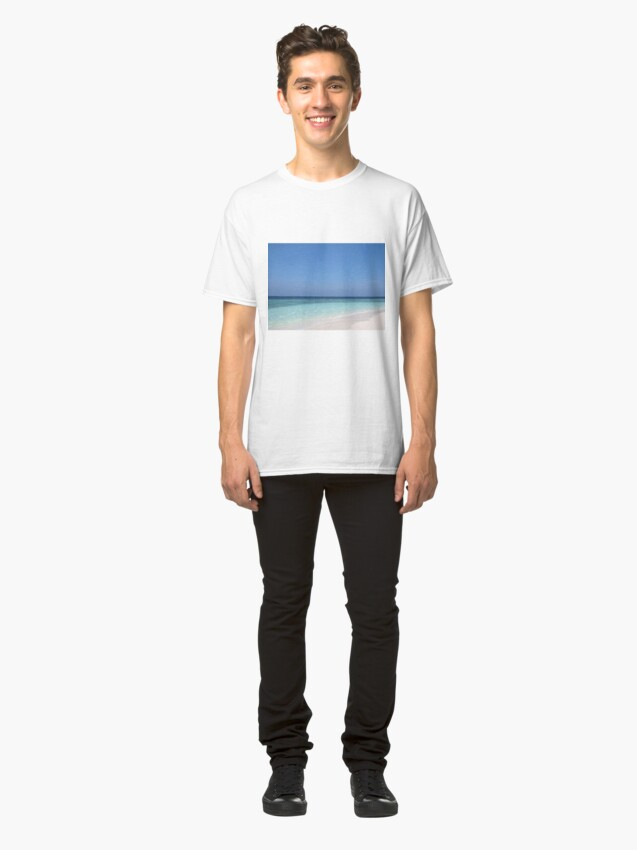 Alternate view of Maldives Perfect Beach Classic T-Shirt