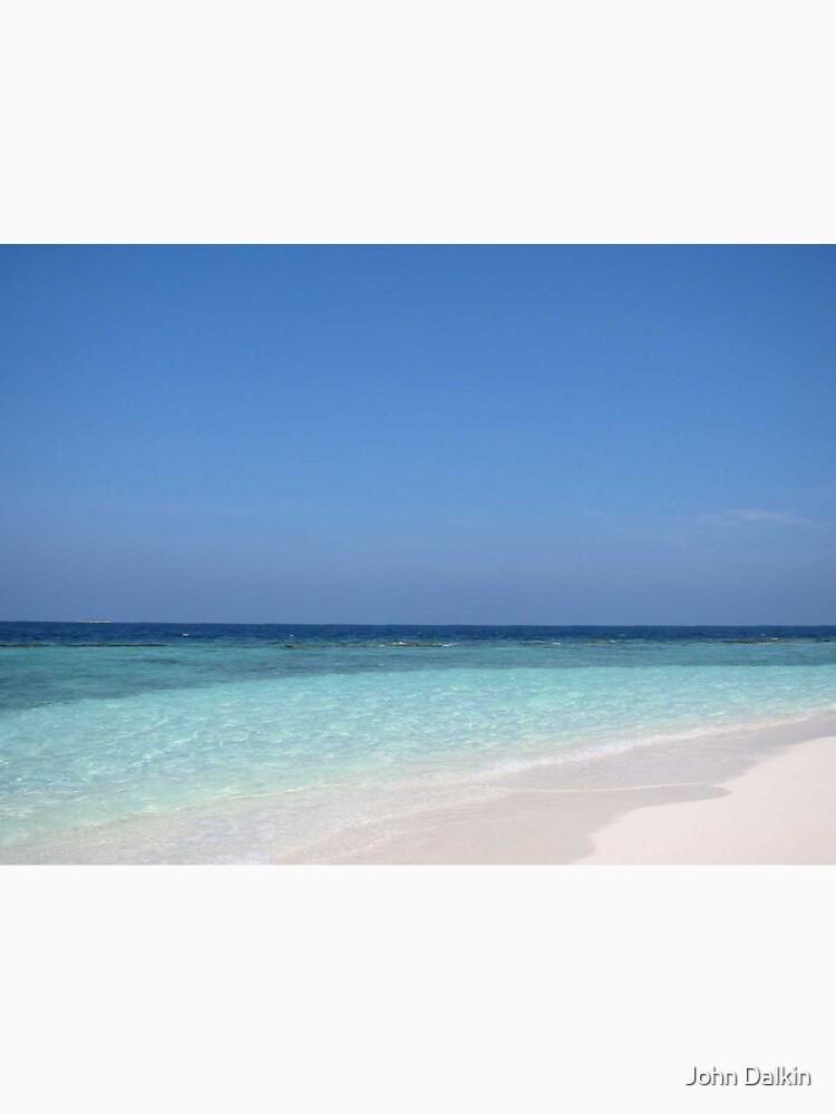 Maldives Perfect Beach by JohnDalkin