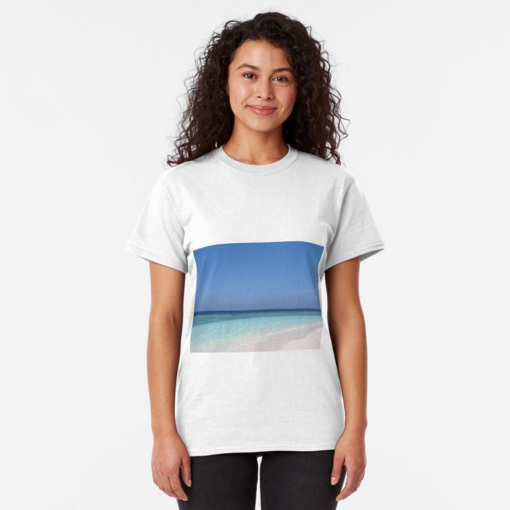 Maldives Perfect Beach Classic T-Shirt