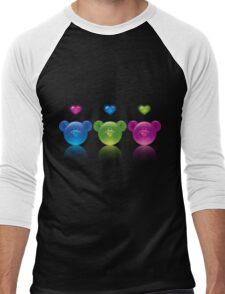 three bears Men's Baseball ¾ T-Shirt