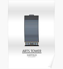 Sheffield Icons - Arts Tower Poster