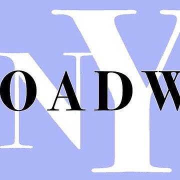 nyc broadway design by jayymarie