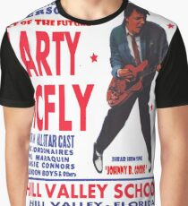 THE MARTY MCFLY SHOW - POST Graphic T-Shirt