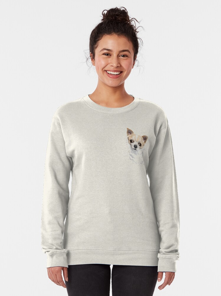 Alternate view of Chihuahua  Pullover Sweatshirt