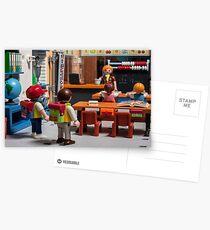 playmobil school Postcards