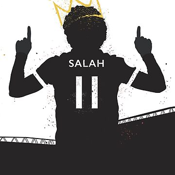Salah The King of Hearts - Liverpool by fullsquadprints