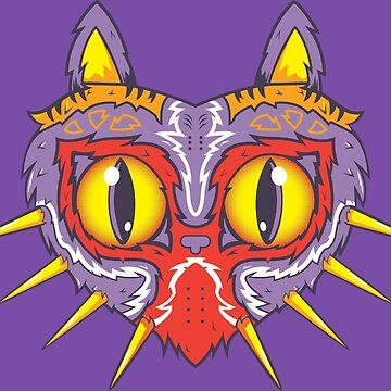 Meowjora's Mask by 8-bit-hobo