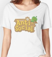 Animal Crossing Antisozial Baggyfit T-Shirt
