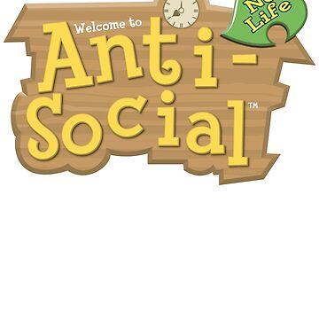Animal Crossing Anti-Social by 8-bit-hobo