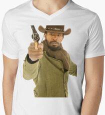 django unchained Men's V-Neck T-Shirt