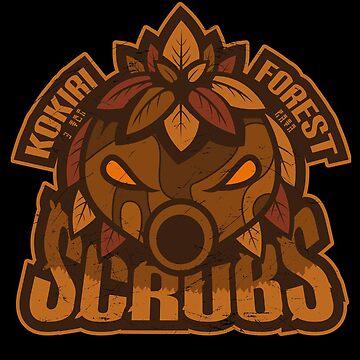 Kokiri Forest Scrubs - Team Zelda by 8-bit-hobo