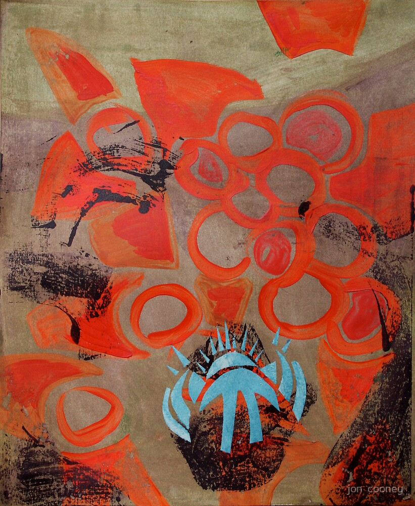 Meditation/Intention Painting Session 19 : 2 by jon  cooney