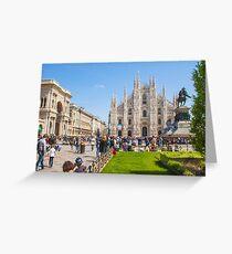 sunday in Milan Greeting Card