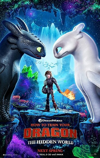 httyd 3 poster by yensid1942