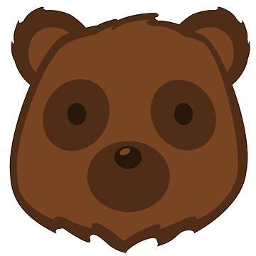 Bear Head by pda1986