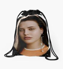 Katherine Langford Drawstring Bag