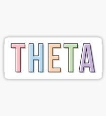 theta Sticker