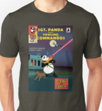 Sgt. Panda and His Yowling Commandos Unisex T-Shirt