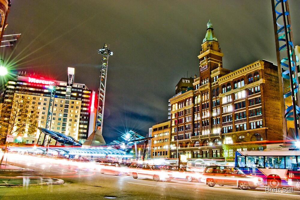 Railway Square by Brett Still