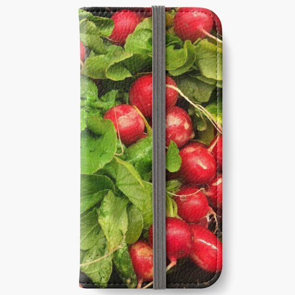 Radishes iPhone Wallet