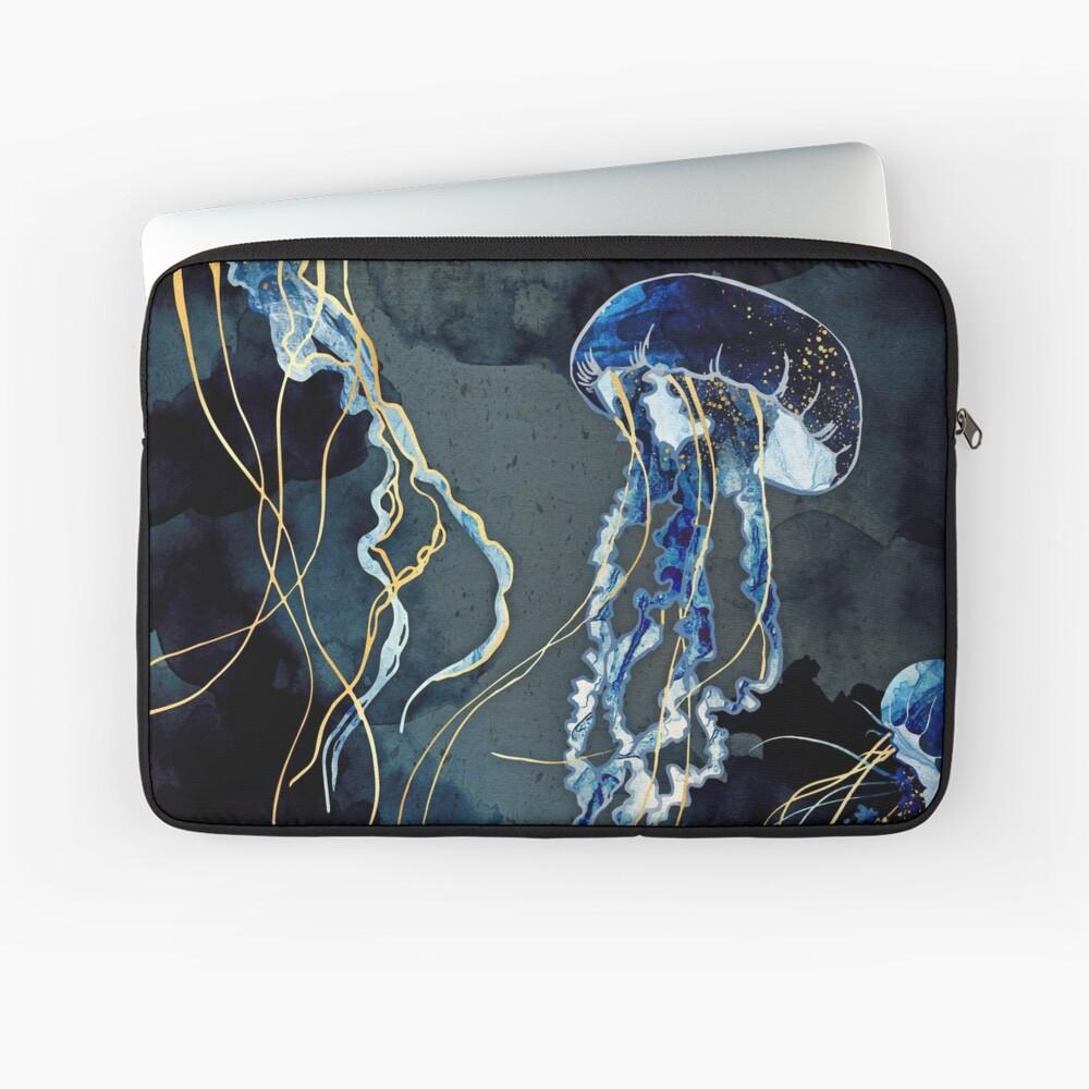 Metallic Ocean III Laptop Sleeve