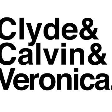 Clyde Calvin Veronica by loeye