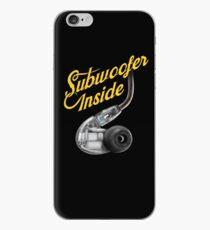 Subwoofer Inside Earphones  iPhone Case