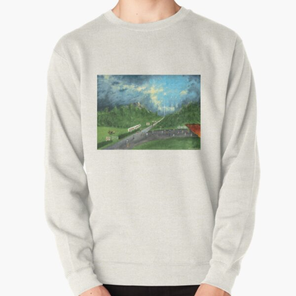 The Broad and Narrow Way - The Light of the Cross Pullover Sweatshirt